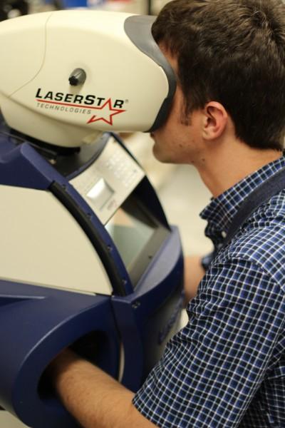 Laser Welder Eyeglass Repair at Diamonds of Midland